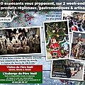 Marché de noël de janvry samedi 3 et dimanche 4 décembre