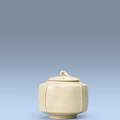 A Ding jar and cover, Late Tang-<b>Five</b> <b>dynasties</b>, 10th century