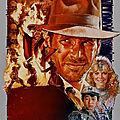 AFFICHE de Film: Indiana Jones et le Temple Maudit par Drew Struzan