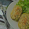 Pomme de terre gratinée à la moutarde pour le défi culinaire 7