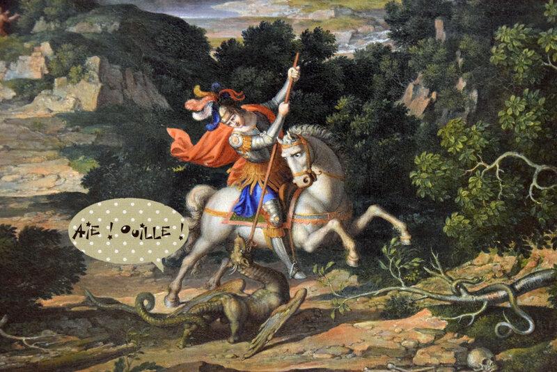 1718-32 Saint-Georges et le dragon (Münich) ouille