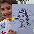 Animation <b>caricatures</b> extérieure, Anniversaire - Moselle