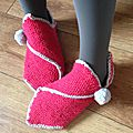 Chaussons cocooning