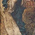Portrait de Marie-Thérèse et François de Lorraine dans la Chapelle des Comtes à <b>Courtrai</b>