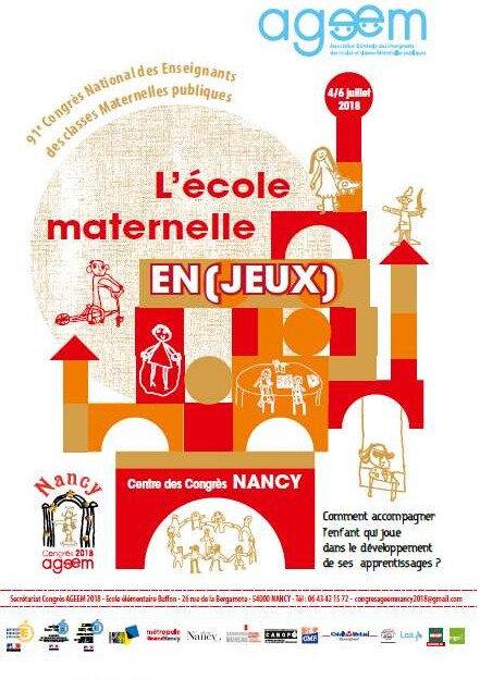 affiche ageem 2018 Nancy
