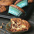 Muffins tigrés
