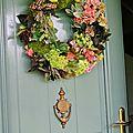 Une couronne à ma porte !