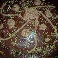 Mon gâteau à la poire/chocolat