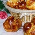Petites brioches à tête de christophe felder (la meilleure recette de mon blog)