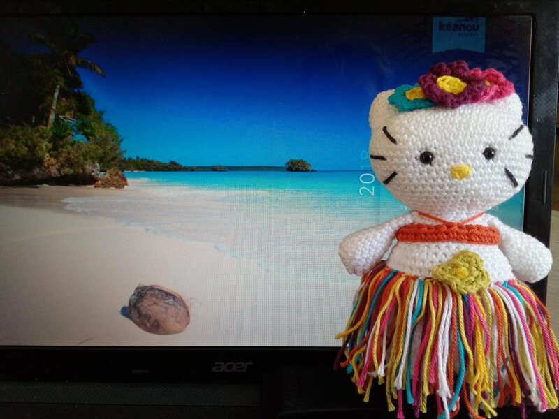 hello kitty tahitienne