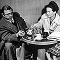 La <b>contemplation</b> : Sartre et Beauvoir