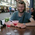 C'est l'apéro! Vodka-liqueur de fraise