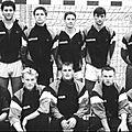 L'équipe du scs de 1989/1990 et ses joueurs