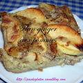 Flan ginger aux pommes