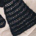 écharpe crochet