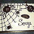 Gâteau halloween boooooohh!!!
