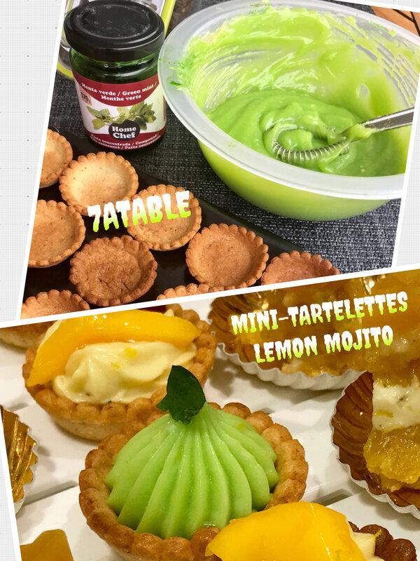 Mojito tartelettes