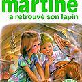 martine et son lapin