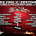 Samedi 03/09/16 : pas con (c') festival , co-organisé pulse/ alternadiff