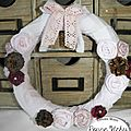 Couronne shabby rose 1