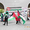 Journée internationale pour les prisonniers palestiniens (bruxelles 2014)