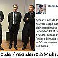 <b>Mulhouse</b> Habitat - Le nouveau Président Philippe Trimaille... Changement de cap ?