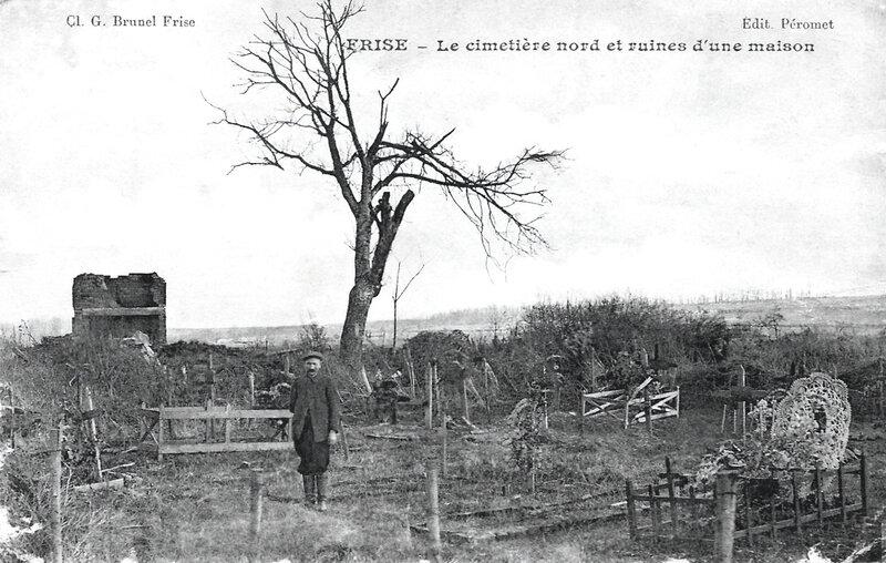 Frise, cimetière nord
