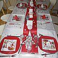 25 décembre....notre table