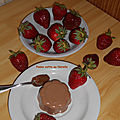Panna cotta au <b>Nutella</b>