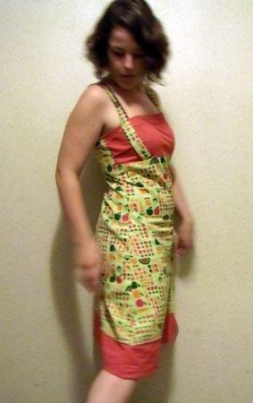 robe fruitée
