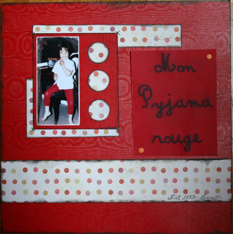 Mon pyjama rouge - Page