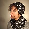 Cols écharpes bandeaux d'automne-hiver