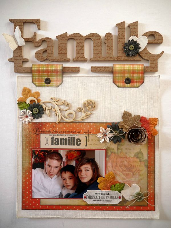 page cintre famille