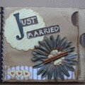 Just married paper book
