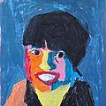 Portrait fauve Katarina