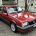 Opel <b>Ascona</b> 2,0 i berline 4 portes-1986