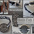 Bracelet Organza Médaillon