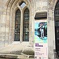 De l'art contemporain dans un joyau cistercien: Saisissant !