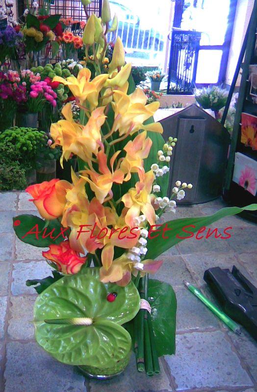 Muguet et Dendrobium