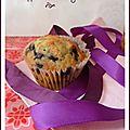 Muffins a la myrtille