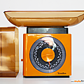 Vintage .... <b>Balance</b> TERRAILLON 5kg * Orange