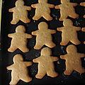 <b>Biscuits</b> aux épices de <b>Noël</b>