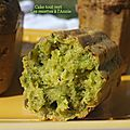 Le <b>cake</b> aux <b>herbes</b>...tout vert