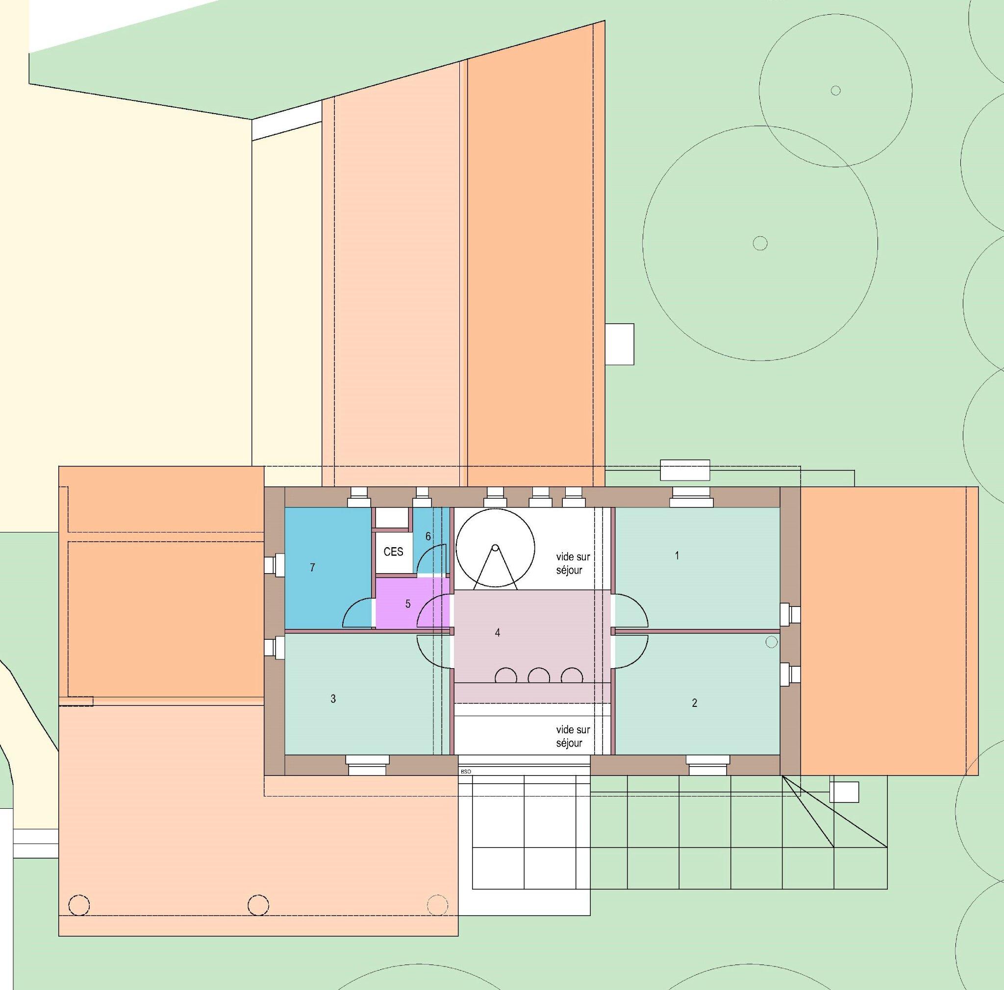 étage maison