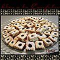 Pâtisserie marocaine: sablés à la confiture