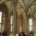 Abbaye du Mont Saint-Michel : salle des hôtes