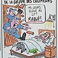 chomage humour macron medef gratte papier