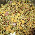 Couscous quinoa - pois chiche - végétalien, gluten free