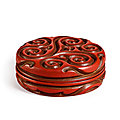 Two cinnabar '<b>tixi</b>' <b>lacquer</b>, Ming dynasty from the Kaisendo Museum sold at Sotheby's HK, 26 May 2021