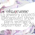 Olgajeanne / 2015 <b>jewelry</b> collection / Capsule Show Paris Women's / September 2014